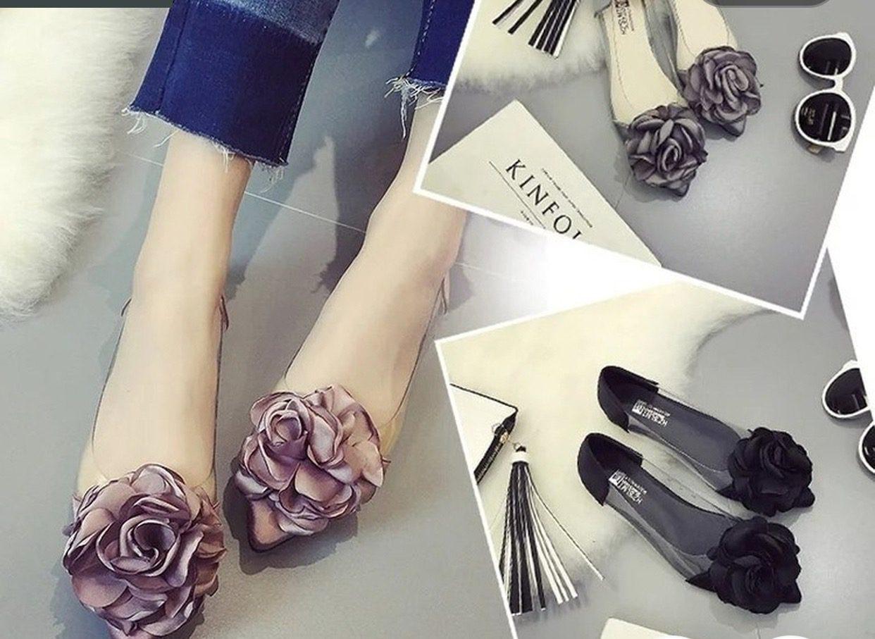 19e06f145022 Rose bud flat shoes – Suzy Q Jewels